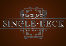 Карточная игра Single Deck Blackjack Professional Series